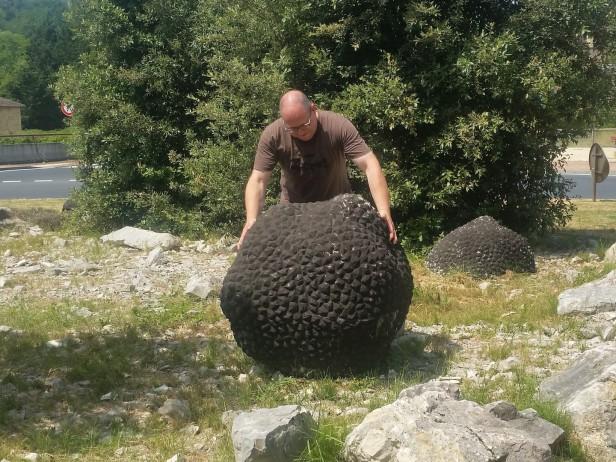Trüffelbaron mit Rekordtrüffel
