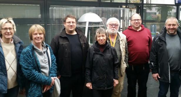 Besuch der Forschungsneutronenquelle