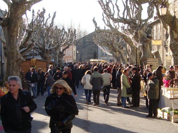 Trüffelmarkt Frankreich